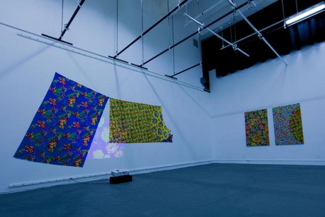 Valentina Pelayo's installation.