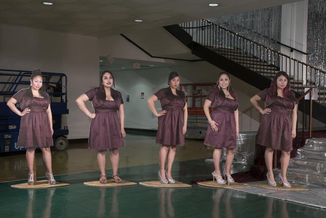 Jazmin Urrea's 'Jazmin's Quince Años (Jazmin's Sweet 15)' in the Main Gallery. | Photo: Molly Surazhsky.