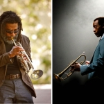 Trumpeter and composer Wadada Leo Smith, left, and actor-filmmaker Don Cheadle will receive honorary CalArts doctorates at Graduation 2016. | Images: Cheadle: Photo by Brian Douglas, Courtesy of Sony Pictures Classics; Smith:  Photo by Scott Groller, courtesy of CalArts.