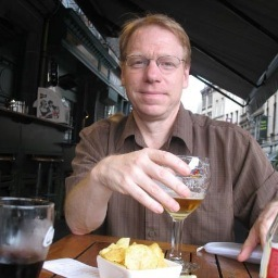 Michael Pisaro, composer and CalArts faculty member.   Image: Twitter