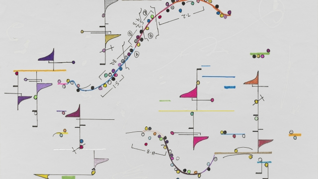 Wadada Leo Smith, 'Vision, from Kosmic Music, n.d..' One of four parts matted together, 32 in. × 15 3/4 in (81.2 cm × 40 cm). | Image courtesy of the artist and Corbett vs Dempsey, Chicago.