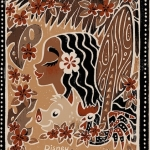 Griselda Sastrawinata-Lemay, 'Moana,' serigraph, limited-edition of 195, 20 in. x 30 in., 2016. | Courtesy Metro Public Relations.