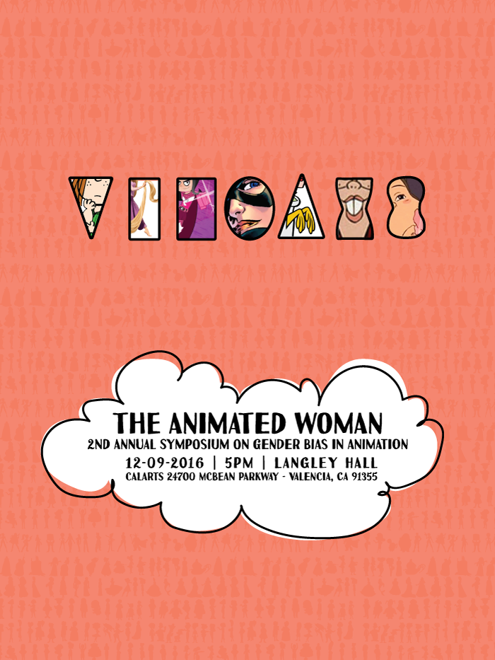 2nd Annual Symposium on Gender Bias in Animation | Image courtesy of CalArts