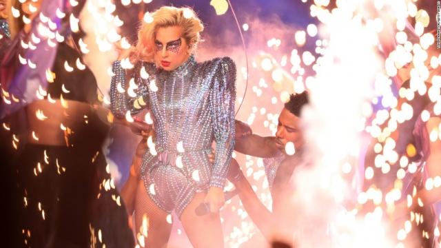 Calartian Lights Up Lady Gaga S Super Bowl Li Halftime