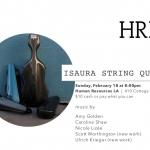 Isaura String Quartet at Human Resources LA