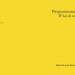 """""""Propositional Attitudes: What do we do now?"""" book cover 