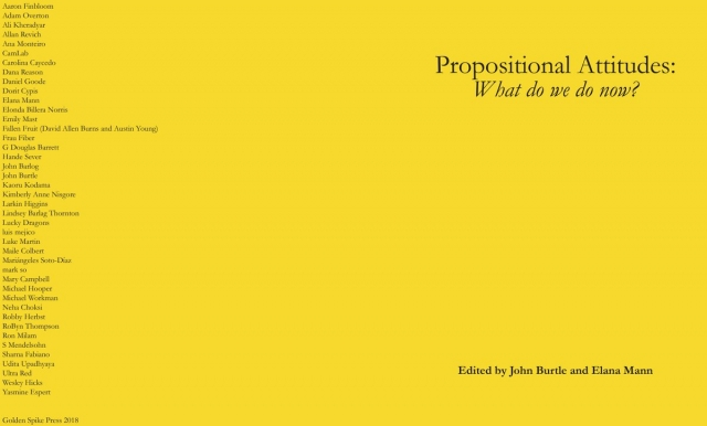 """Propositional Attitudes: What do we do now?"" book cover 