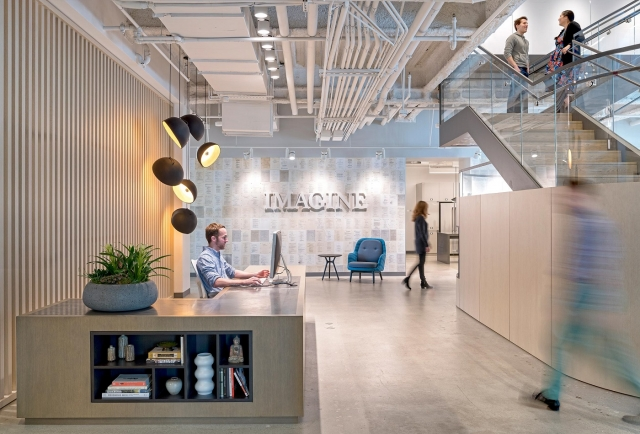 Imagine Entertainment Office | Courtesy of Imagine Entertainment