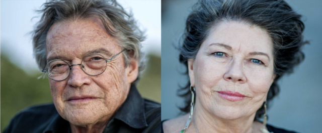 Portraits of artists Terry Allen and Jo Harvey Allen