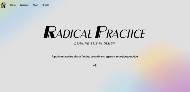 Radical Practice website screenshot