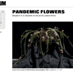 screenshot of Artforum site