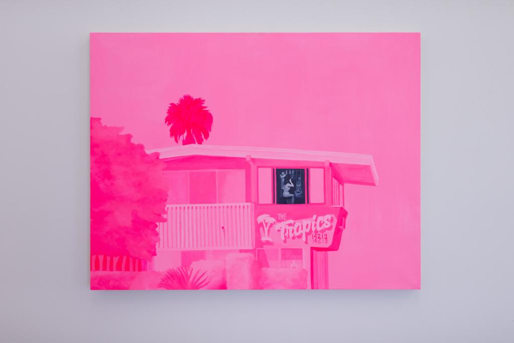 Aiden Romick painting