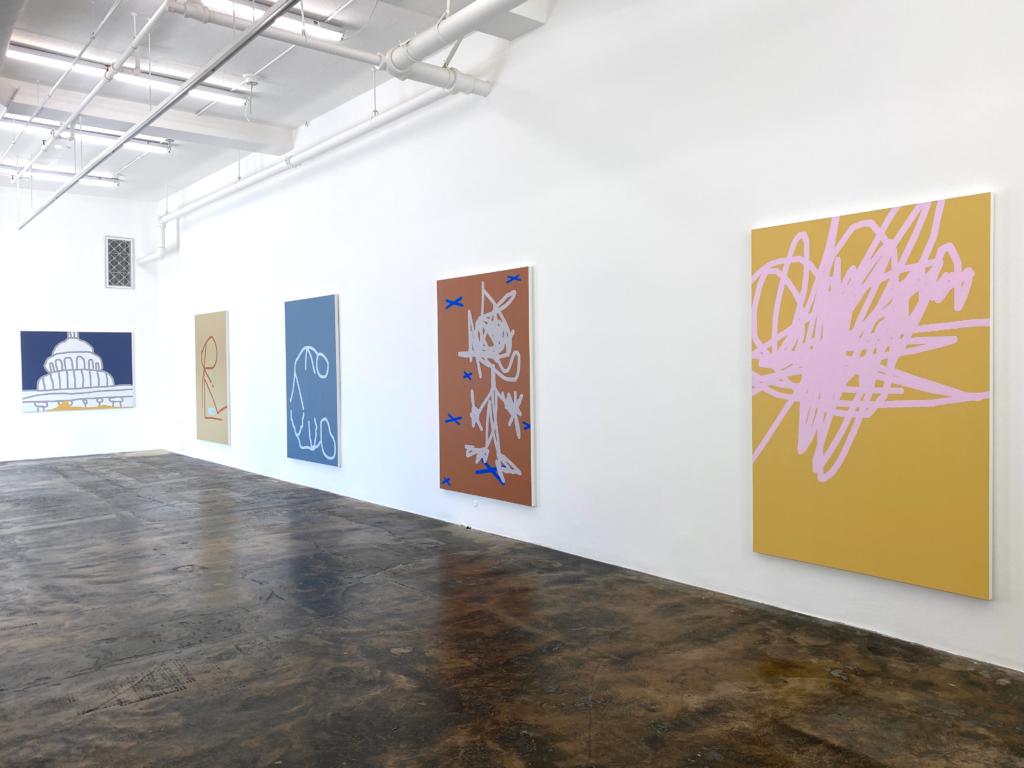Benjamin S. Gordon gallery installation