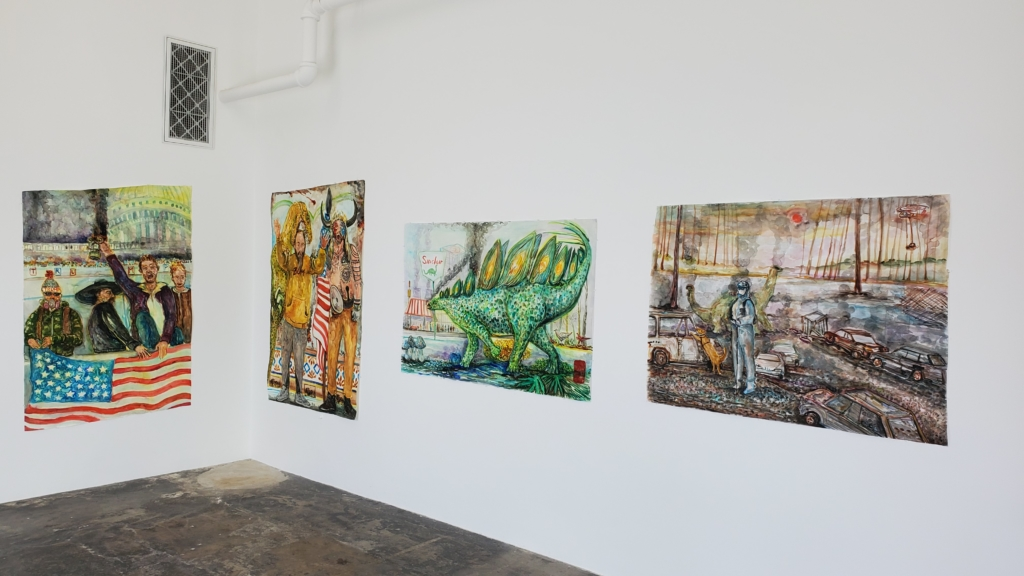 Richard Nam gallery exhibition